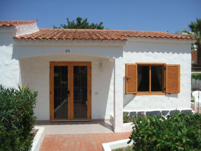 Front of bungalow - Number 83 Los Arcos, Playa del Ingles, Gran Canaria